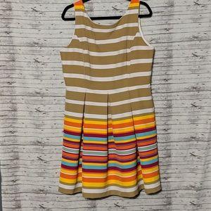 Ronni Nicole Womens SZ:16 A line dress sleeveless